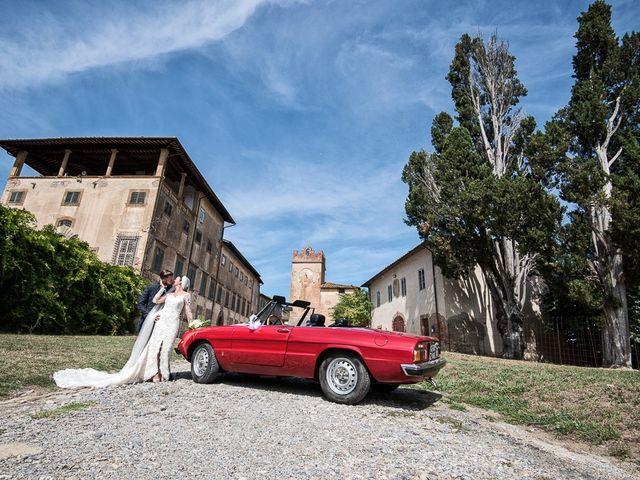 Il matrimonio di Mirko e Elisa a Massarosa, Lucca 36