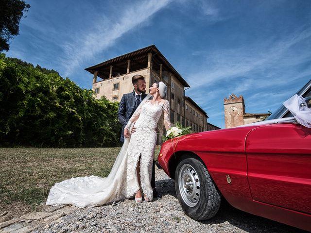 Il matrimonio di Mirko e Elisa a Massarosa, Lucca 37