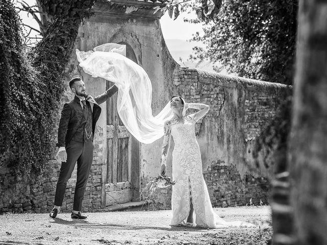 Il matrimonio di Mirko e Elisa a Massarosa, Lucca 45