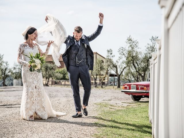 Il matrimonio di Mirko e Elisa a Massarosa, Lucca 49