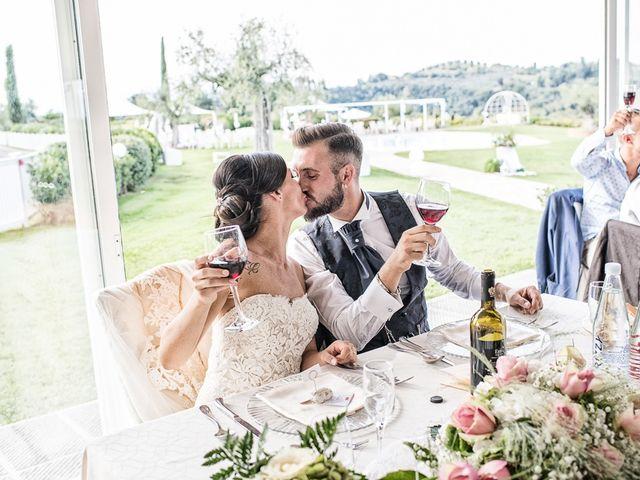 Il matrimonio di Mirko e Elisa a Massarosa, Lucca 57