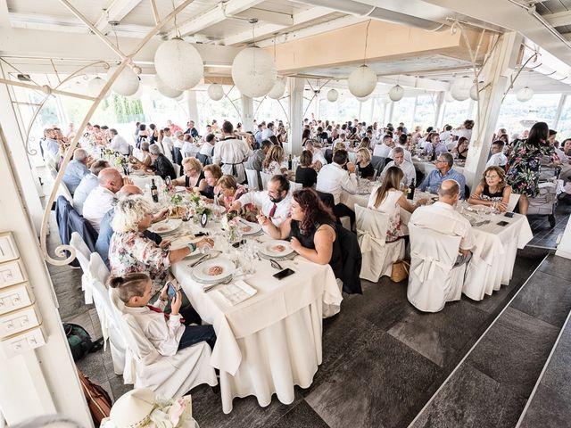 Il matrimonio di Mirko e Elisa a Massarosa, Lucca 60