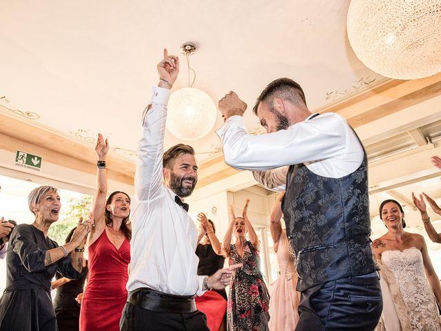 Il matrimonio di Mirko e Elisa a Massarosa, Lucca 63