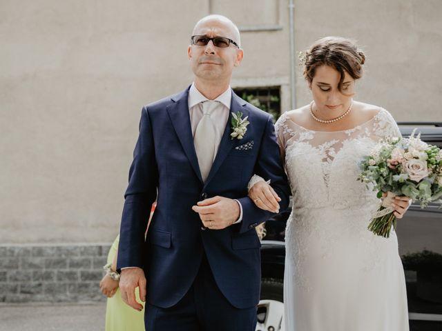 Il matrimonio di Matteo e Marina a Clivio, Varese 45
