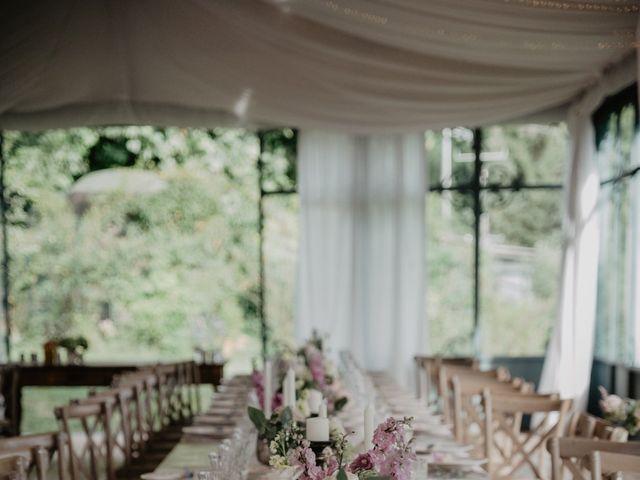 Il matrimonio di Matteo e Marina a Clivio, Varese 80