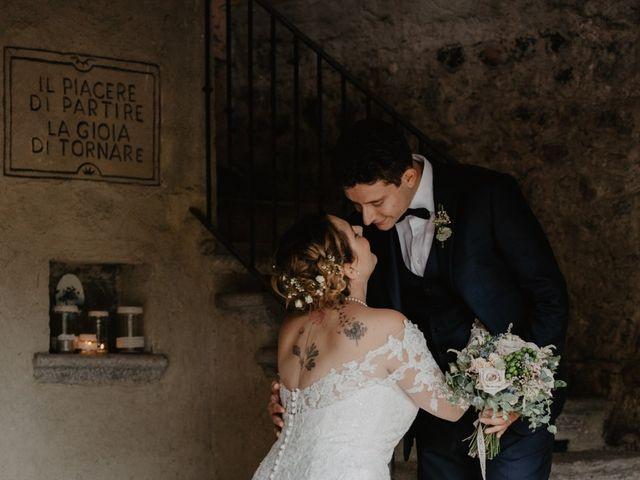 Il matrimonio di Matteo e Marina a Clivio, Varese 95