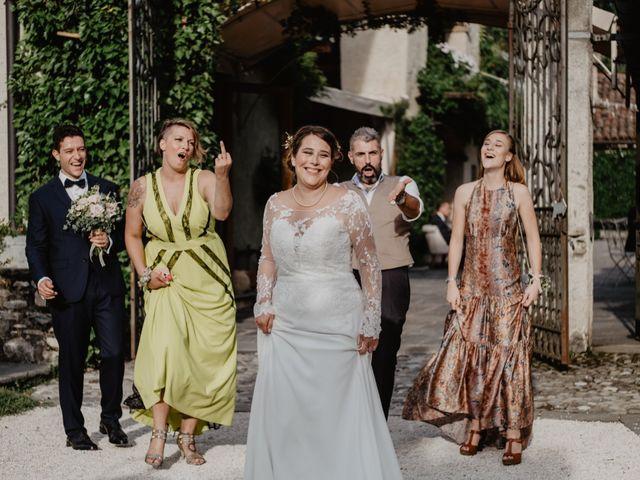 Il matrimonio di Matteo e Marina a Clivio, Varese 96