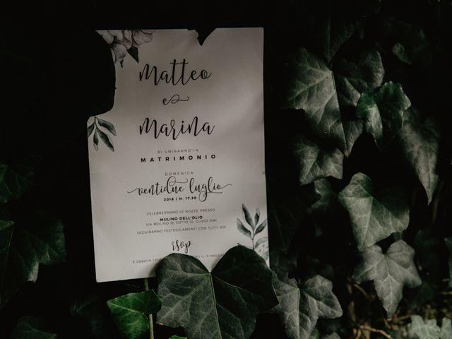 Il matrimonio di Matteo e Marina a Clivio, Varese 99