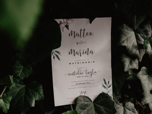 Il matrimonio di Matteo e Marina a Clivio, Varese 100