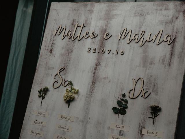 Il matrimonio di Matteo e Marina a Clivio, Varese 102