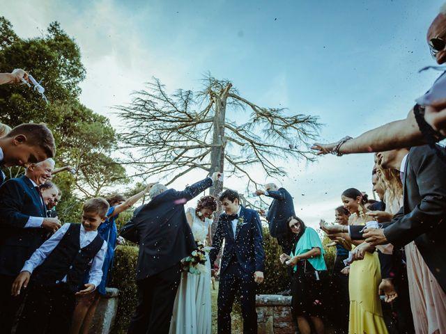Il matrimonio di Luca e Selene a Siena, Siena 61