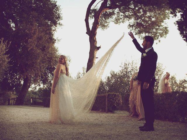 Il matrimonio di Manuel e Carlie a Fiumicino, Roma 11