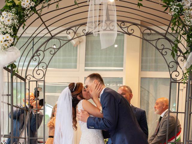 Il matrimonio di Marco e Ilenia a Erbusco, Brescia 11
