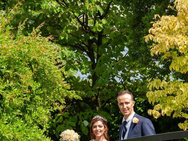 Il matrimonio di Marco e Ilenia a Erbusco, Brescia 15
