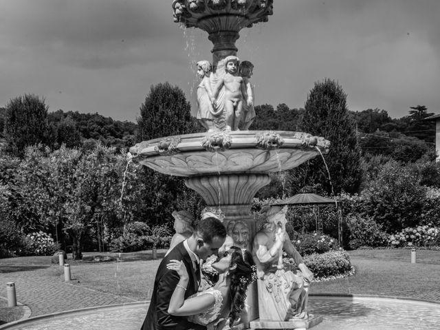 Il matrimonio di Marco e Ilenia a Erbusco, Brescia 17