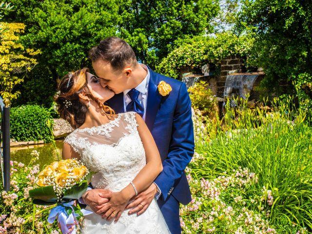 Il matrimonio di Marco e Ilenia a Erbusco, Brescia 18