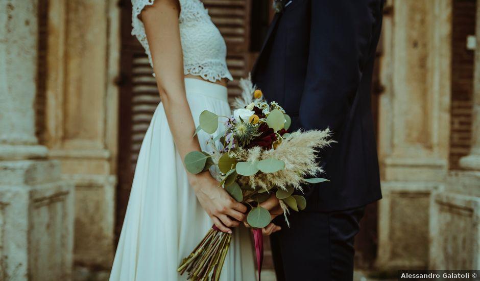 Il matrimonio di Luca e Selene a Siena, Siena