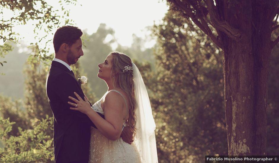Il matrimonio di Manuel e Carlie a Fiumicino, Roma