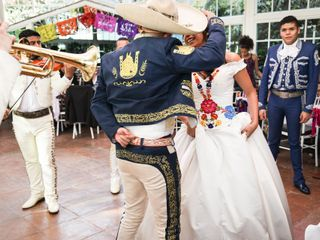 Le nozze di Abril e Carlos