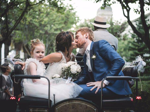 le nozze di Alessia e Jimmy