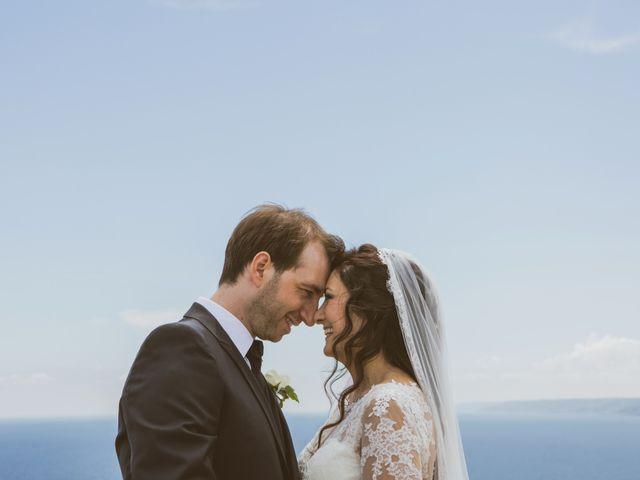 Il matrimonio di Andrea e Debora a Castro, Lecce 2