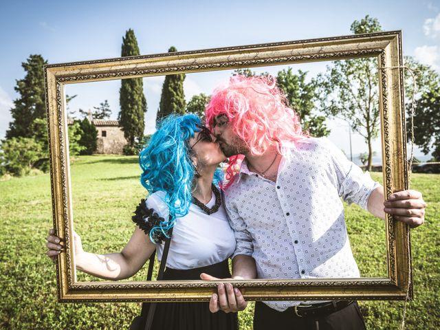 Il matrimonio di Valentina e Matteo a Città della Pieve, Perugia 45