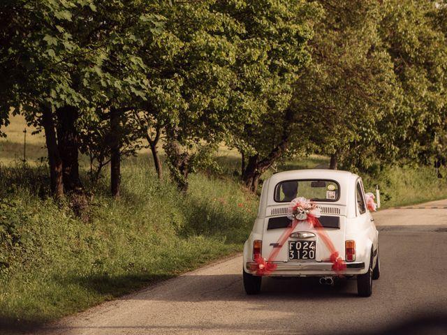 Il matrimonio di Ester  e Gioele  a Gradara, Pesaro - Urbino 3