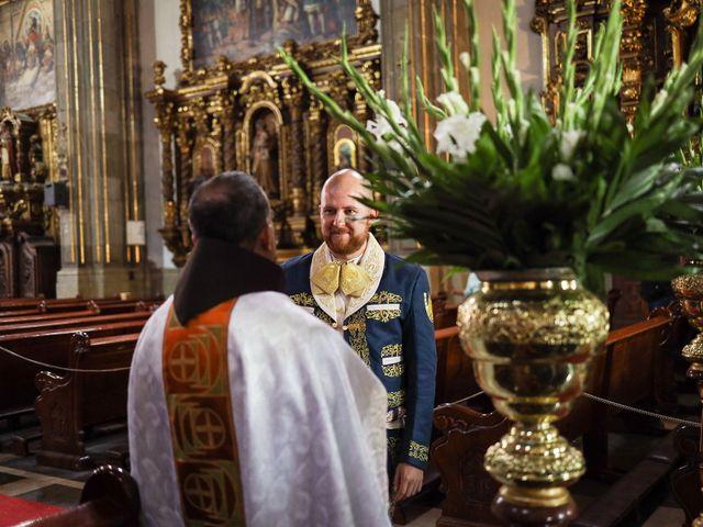 Il matrimonio di Carlos e Abril a Massa Martana, Perugia 4