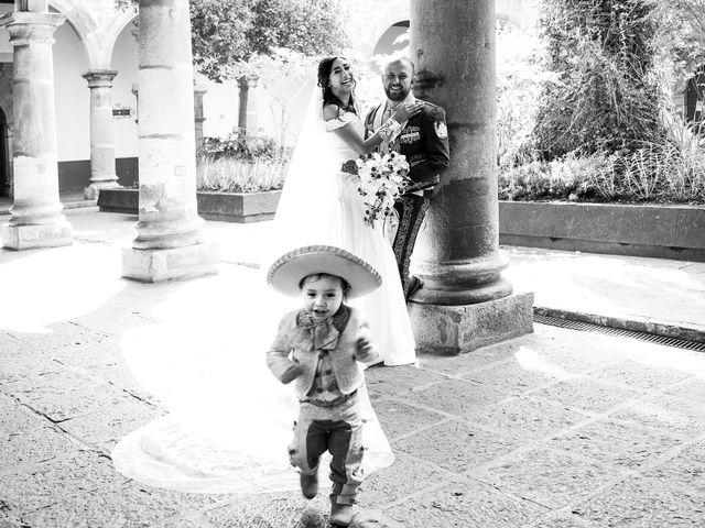 Il matrimonio di Carlos e Abril a Massa Martana, Perugia 25