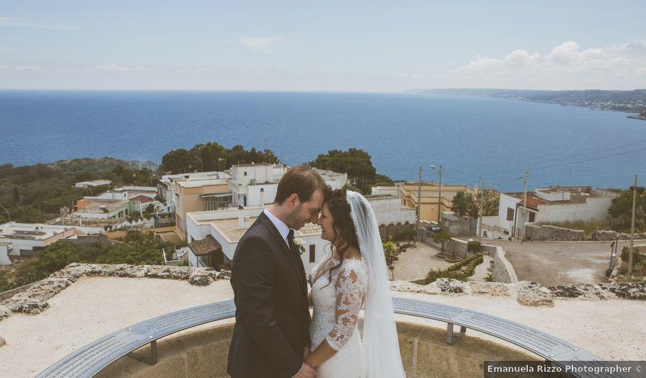 Il matrimonio di Andrea e Debora a Castro, Lecce