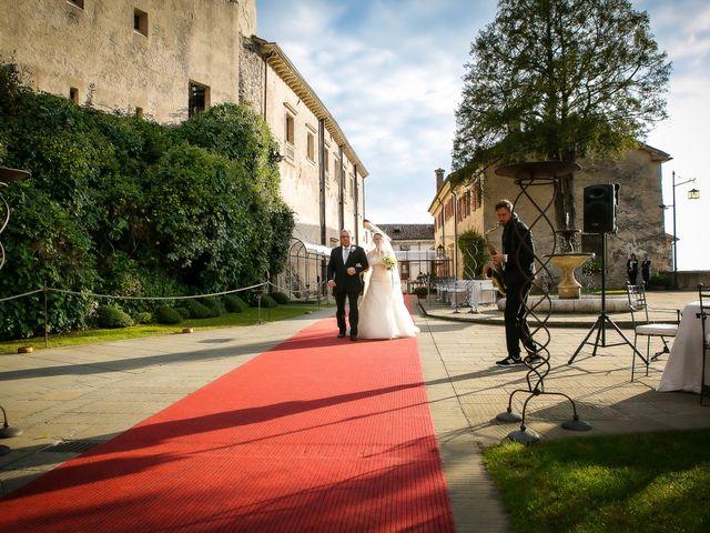 Il matrimonio di Alessandro e Federica a Cison di Valmarino, Treviso 12