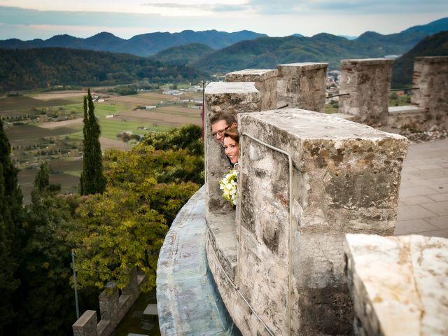 Il matrimonio di Alessandro e Federica a Cison di Valmarino, Treviso 34