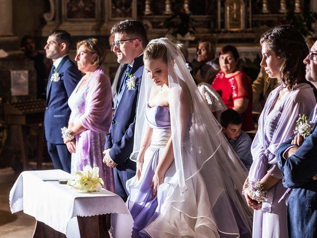 Il matrimonio di Gianmario e Khrystyna a Preseglie, Brescia 35