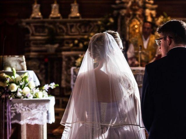 Il matrimonio di Gianmario e Khrystyna a Preseglie, Brescia 37
