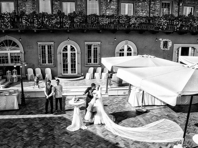 Il matrimonio di Gianmario e Khrystyna a Preseglie, Brescia 56