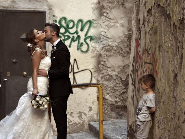 Il matrimonio di Salvatore e Maria a Bacoli, Napoli 1