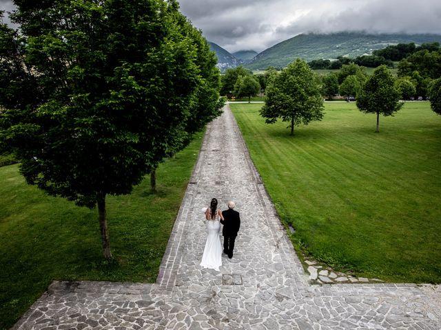 Il matrimonio di Ulisses e Francesca a Castelraimondo, Macerata 24