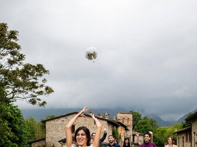 Il matrimonio di Ulisses e Francesca a Castelraimondo, Macerata 41