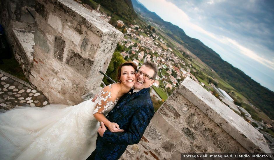 Il matrimonio di Alessandro e Federica a Cison di Valmarino, Treviso