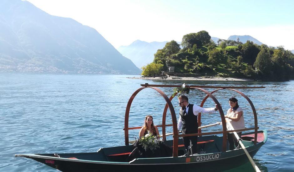Il matrimonio di Lucio e Chiara a Ossuccio, Como