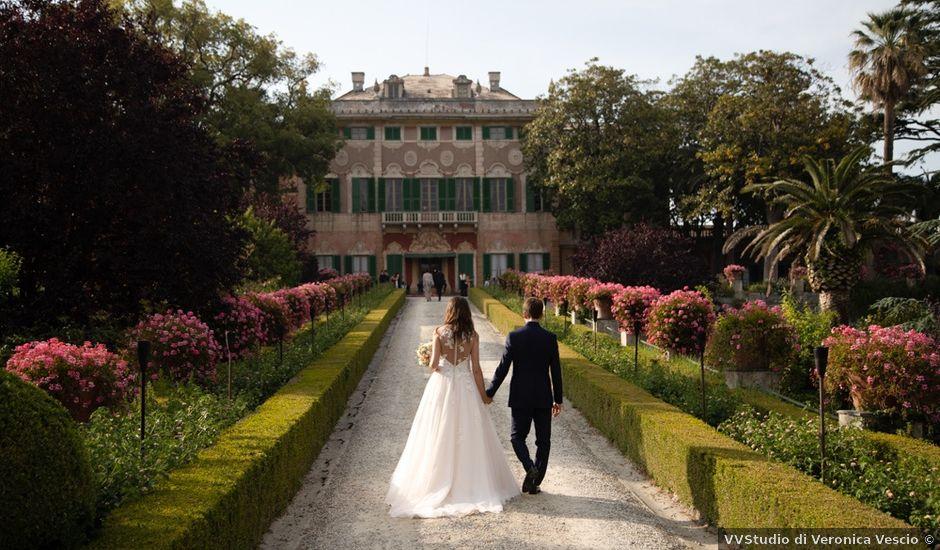 Il matrimonio di Diego e Silvia a Albisola Superiore, Savona