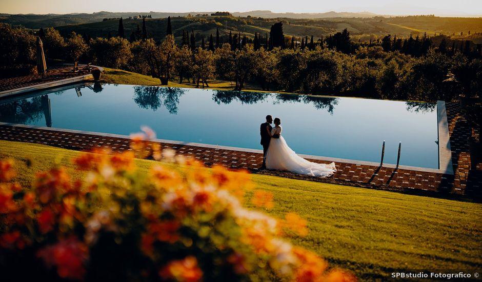 Il matrimonio di Simone e Chiara a Empoli, Firenze