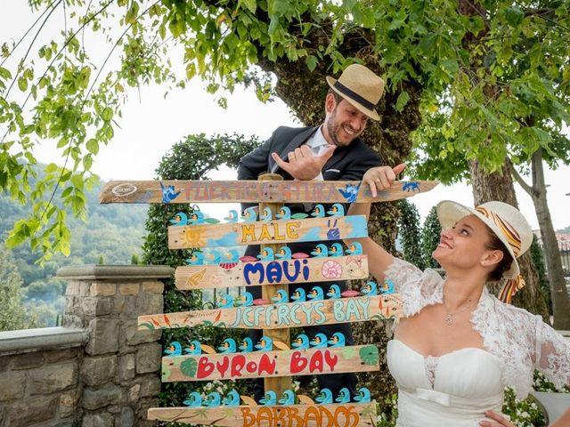 le nozze di Serena e Mario