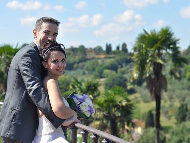 Il matrimonio di Lorenzo e Pamela a Sesto Fiorentino, Firenze 1