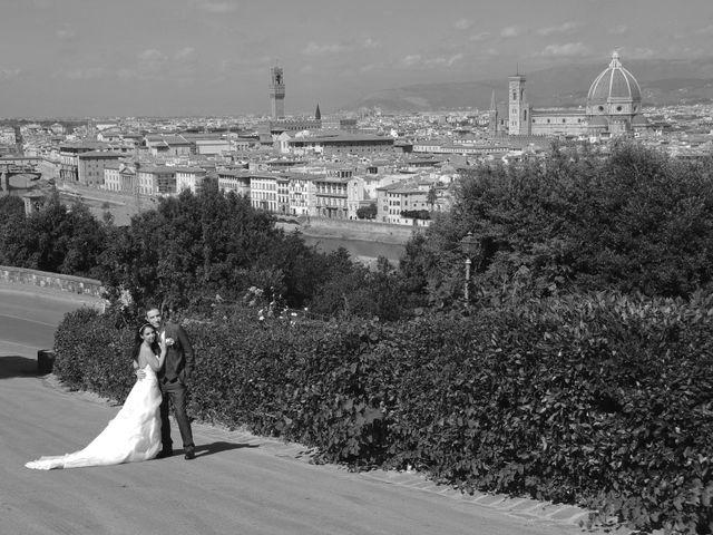 Il matrimonio di Lorenzo e Pamela a Sesto Fiorentino, Firenze 11
