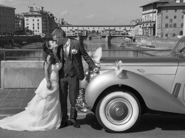 Il matrimonio di Lorenzo e Pamela a Sesto Fiorentino, Firenze 21