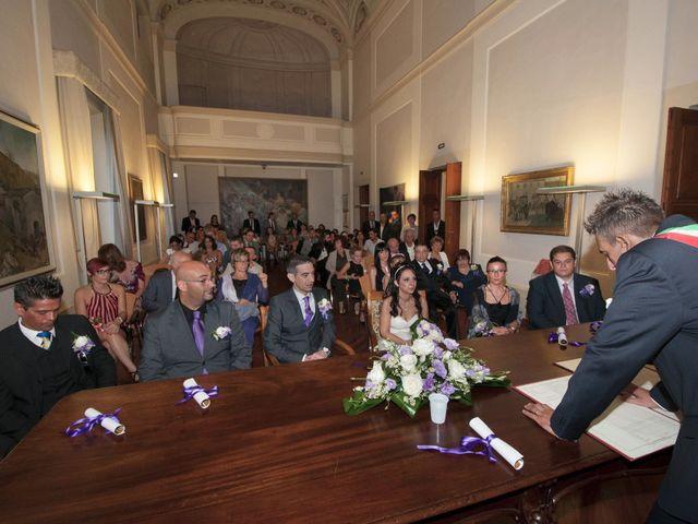 Il matrimonio di Lorenzo e Pamela a Sesto Fiorentino, Firenze 23