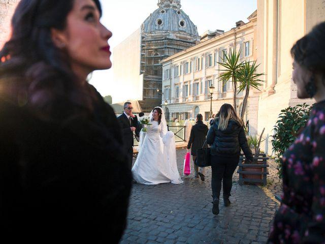 Il matrimonio di Francesco e Silvia a Roma, Roma 20