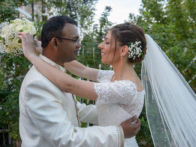 Le nozze di Claudia e Thirumaaran