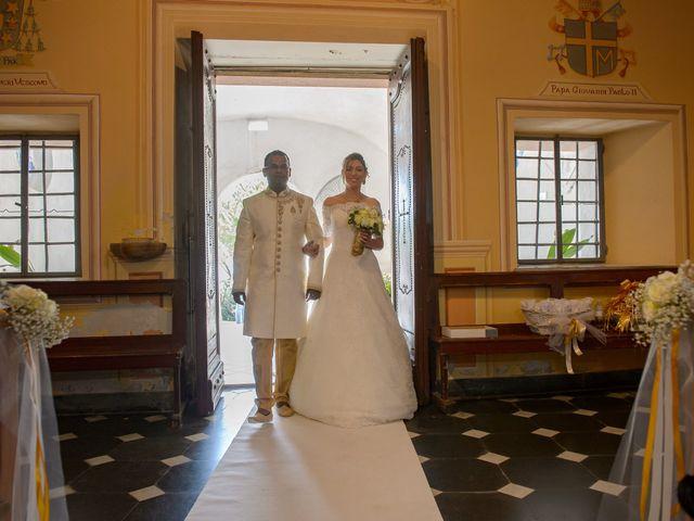 Il matrimonio di Thirumaaran e Claudia a Alassio, Savona 5